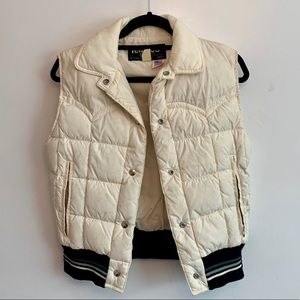 Vintage Tempco Goose Down Puffer Quilted vest